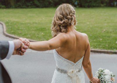 Brautkleid offen